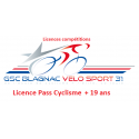 Licence Pass Cyclisme (+19 ans)